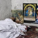 At least 24 Coptic Christians were killed in Cairo during clashes with the Egyptian Army on Oct. 9., Thomas Hartwell / Redux
