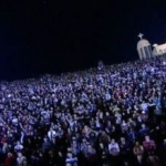 Some 70,000 Christians have gathered for massive all-night prayer rally in Cairo, organizers said.