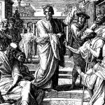 The Apostle Paul preaching in Athens