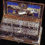 Relic box of the Precious Belt -Sash- Cincture, of the Theotokos Commemorated on 31 August