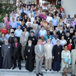 MEMBERS OF THE ARMENIAN ORTHODOX CHURCH ATTEND THE WORLD COUNCIL OF CHURCHES'  CENTRAL COMMITTEE MEETING IN CRETE (GREECE)