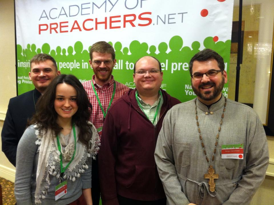 Representatives of the OCA at the National Festival of Young Preachers
