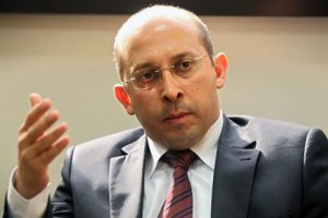MP Alain Aoun speaks during an interview in Beirut, Friday, Dec. 10, 2010. (The Daily Star Photo)