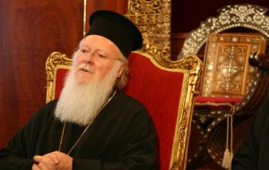 Ecumenical Orthodox Patriarch Bartholomew of Constantinople (CNS photo/John Thavis)