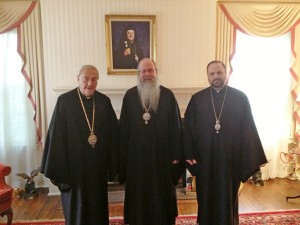 Metropolitan Philip, Metropolitan Tikhon and Bishop Nicholas