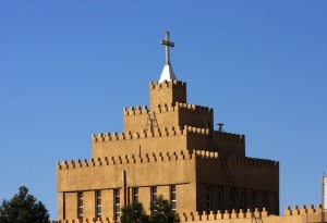 Church in Kurdistan.  Sadik Gulec / Shutterstock.com