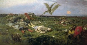 After Igor Svyatoslavich's fighting with the Polovtsy (1880) is exhibited in the Tretyakov Gallery of Moscow. (Wikimedia Commons)