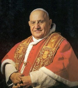Pope John XXIII, who earlier in his career was Papal Nuncio to Bulgaria, from 1925 to 135. Portrait: The Vatican