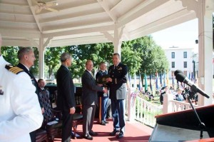 Fr Baktis graduates from the US Army War College