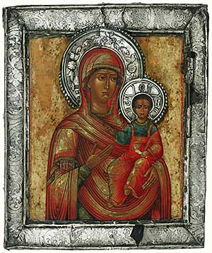Icon, Smolensk Mother of God