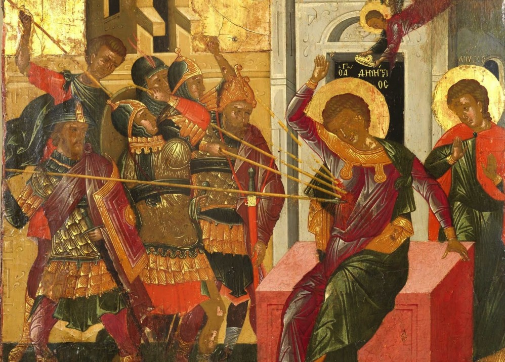 Photo: The Martyrdom of St. Demetrios