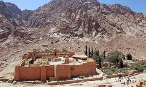 Closure of St Catherine's monastery due to security concerns has devastated tourist trade of nearby town named after it