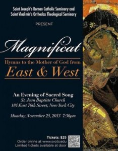 "New York City ""Magnificat"" Concert @ St. Jean Baptiste Church   