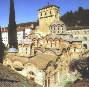 Hilandar Monastery on Mount Athos