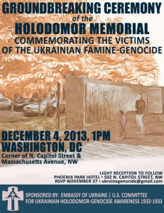 Halodomor Commemoration: Washington D.C. @ N. Capital Street and Massachusettes Ave. | Washington | District of Columbia | United States