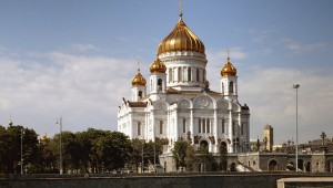 Moscow's Cathedral of Christ the Savior, the largest Orthodox church in Russia © RIA Novosti. Yury Artamonov