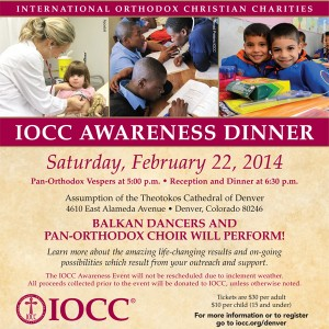 IOCC Awareness Dinner: Denver, CO @ Assumption of the Theotokos Greek Orthodox Church  | Denver | Colorado | United States