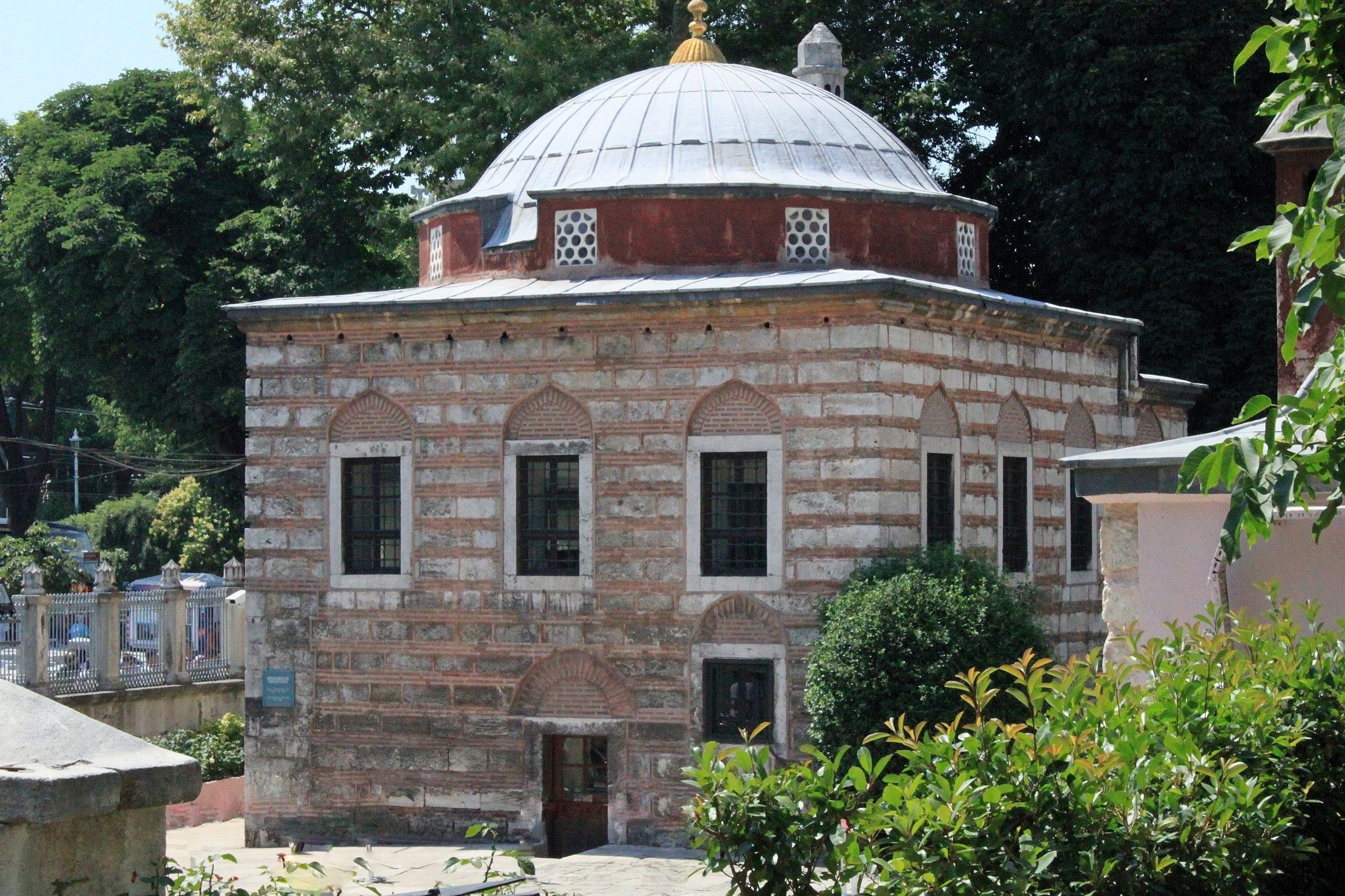 Istanbul: Hagia Sophia madrasa Sultan Mahmud I had a madrasa (Koranic school) built on the grounds of the Hagia Sophia in 1740.