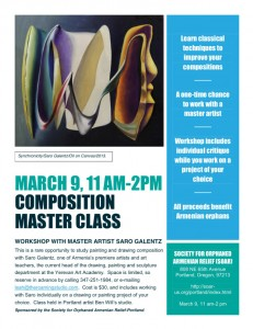 Composition Master Class with Artist Saro Galentz: OR