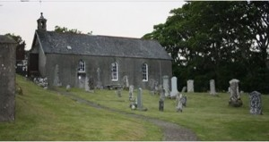 Monastery of Saints Ninian and Cuthbert on Mull Island in the Scottish Hebrides