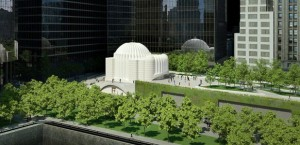 Prototype of Church of St Nicholas at Ground Zero