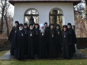Members of the Holy Synod of Bishops of the OCA