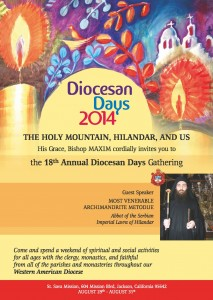 Diocesan Days 2014: Jackson, CA  @ Saint Save Mission | Jackson | California | United States