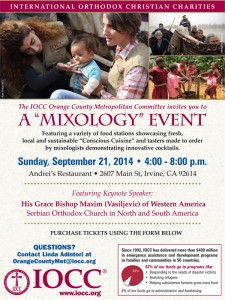 "IOCC Orange County, CA. ""Mixology Event"" @ Andrei's Restaurant 
