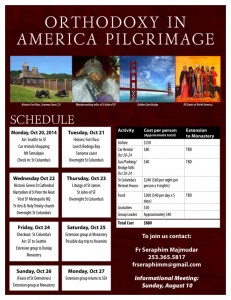 """Orthodoxy in America Pilgrimage"": WA"