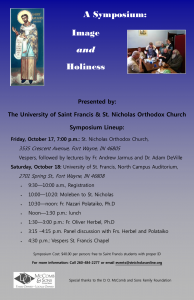 2nd Annual Eastern Christianity Symposium: Ft. Wayne, IN