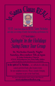 St Nicholas Family Fun Night: Post Falls, Idaho @ St. John the Baptist Orthodox Church | Post Falls | Idaho | United States