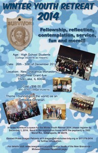 Winter Youth Retreat 2014: Third Lake, IL @ New Gracanica Monastery | Lake Villa | Illinois | United States