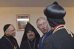 Prince Charles with Armenian clergy