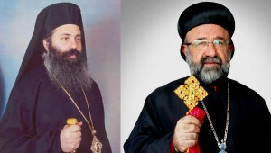 Syrian archbishops Yohanna Ibrahim and Boulos Yazigi have not been heard from since they were abducted in Syria in April 2013. (Image source: Syrian media)