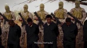 Reuters The video purportedly made by ISIS and posted on social media sites on Sunday appeared to show militants shooting and beheading about 30 Ethiopian Christians in Libya.