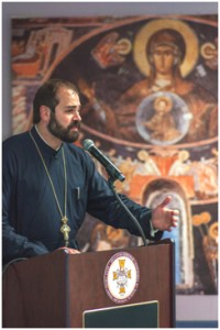 Archimandrite Nathanael Symeonides of the Greek Orthodox Archdiocese – Photo: GOAA