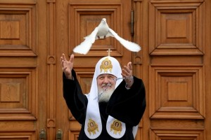 "Patriarch Kirill: ""We associate this decision with the approach of peace and fairness"" Getty Images"