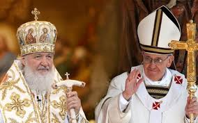 Patriarch Kirill and Pope Francis in Havana, Cuba