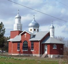 Sts. Cyril and Methodius Russian Orthodox Greek Catholic Church in Hartshorne