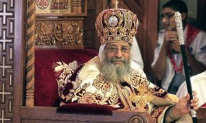 Pope Tawadros II, the pope of the Coptic Orthodox church (Photo: Reuters)