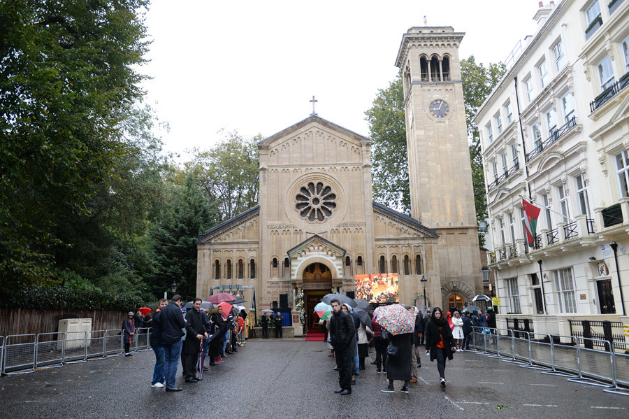London's Russian Orthodox Cathedral of the Dormition of the Mother of God and All Saints