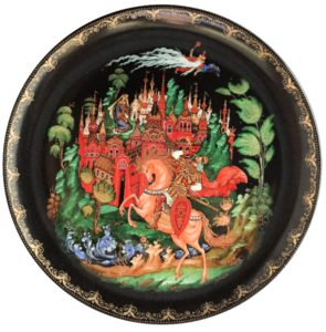 TWELVE FAIRY TALE PLATES Exhibit: Clinton, MA @ Museum of Russian Icons | Clinton | Massachusetts | United States