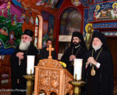 Archbishop Elpidophoros Visits the Serbian Orthodox Diocese of New Gračanica